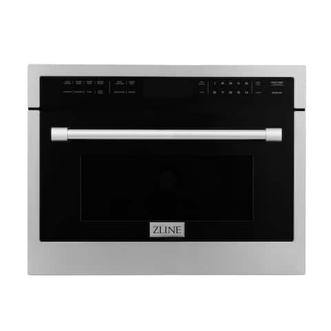 """ZLINE 24"""" Microwave Oven in Stainless Steel - 24 in"""