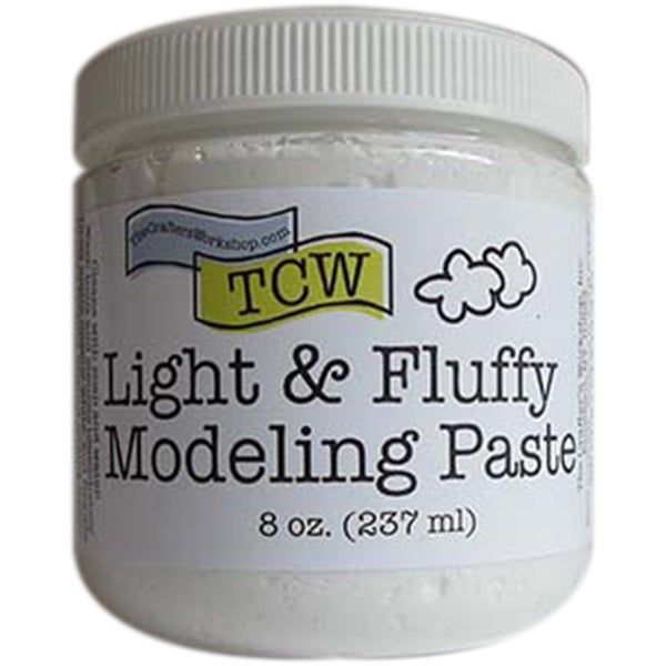 Crafter's Workshop Light Whipped Modeling Paste 8Oz-