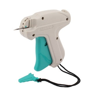 Unique Bargains Gray Green Plastic Garment Price Labelling 9S Tagging Gun w Lifting Rope