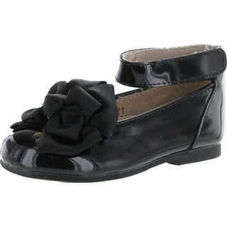 Venettini Girls Misty Dress Shoe With Beautiful Bow Ornament