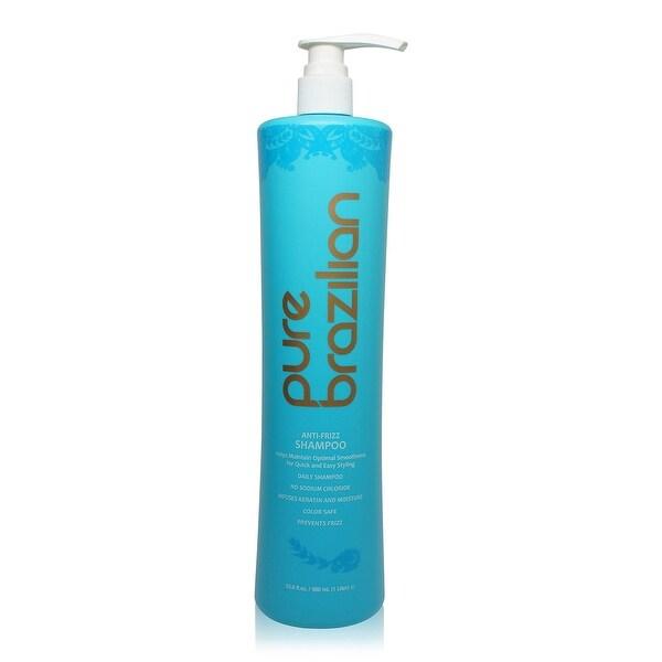 pure brazilian Anti-Frizz Shampoo 1 33.8 Oz