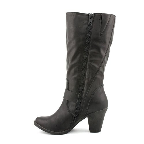 Style & Co. Womens Leila Almond Toe Mid-Calf Fashion Boots