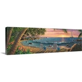 """""""Summer Breeze"""" Canvas Wall Art"""