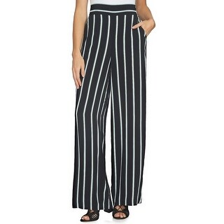 1.STATE Striped Wide Leg Pants - M