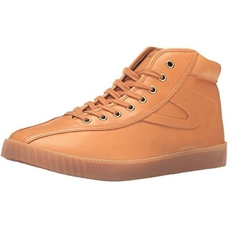 Tretorn Mens Nylite Hi6 Fashion Sneakers Casual Leather