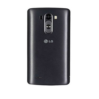 LG Quick Circle Folio Case for LG G3 - Titanium Black