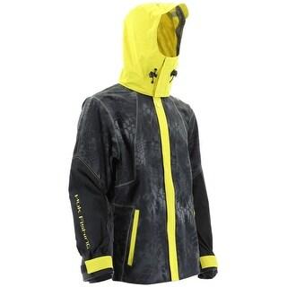 Huk Kryptek All Weather Krytpek Typhoon with Yellow Hood 3X-Large Jacket