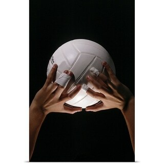 Poster Print entitled Volleyball Hands