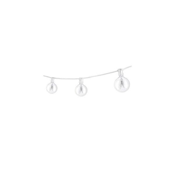 Bulbrite 810051 25 Foot 15 Light Socket String Light - WHITE - N/A