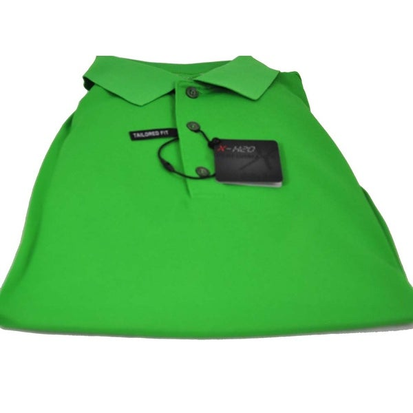Bobby Jones Keylime Large Golf Polo Tailored Fit Cotton Shirt