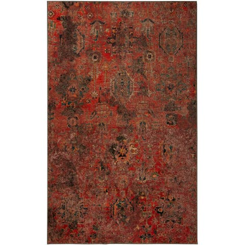 Copper Grove Pregonero Abstract Medallion Area Rug