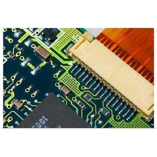 """""""Circuit board"""" Poster Print"""