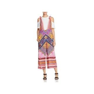 Free People Womens Maritzah Jumpsuit Printed Sleeveless