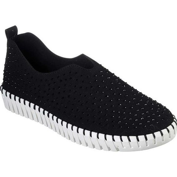 48d17240df0d Shop Skechers Women s Sepulveda Blvd City Dweller Slip-On Sneaker  Black White - Free Shipping Today - Overstock - 26485172