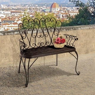 Design Toscano French Quarter Garden Bench