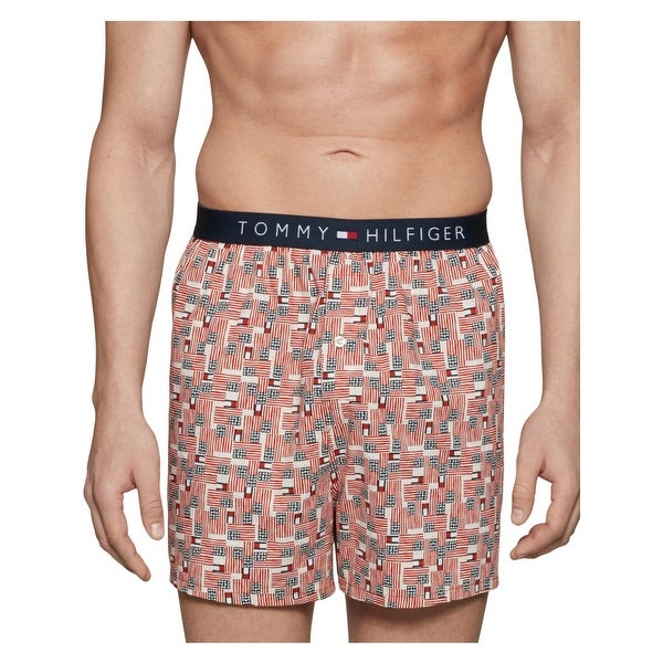 1f0bd60bd7 Shop Tommy Hilfiger Mens Boxers Cotton Signature - Free Shipping On ...