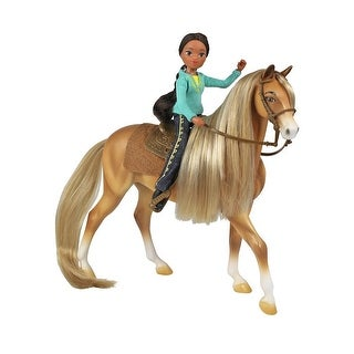Spirit Riding Free 1:12 Classics Model Horse Set: Chica Linda & Prudence - multi