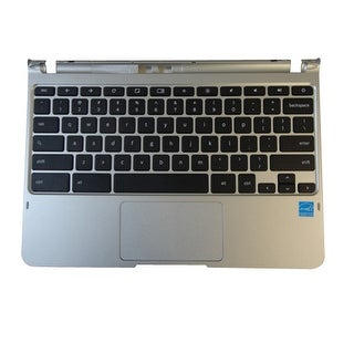 New Samsung Chromebook XE303C12 Silver Palmrest, Keyboard & Touchpad