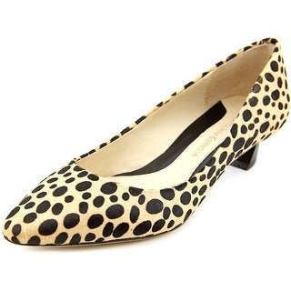 Carolinna Espinosa Bonnie 5 Pointed Toe Suede Heels