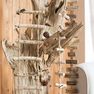 G Home Collcection Rustic Wood String Ornament