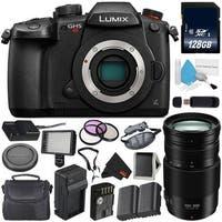 Panasonic Lumix DC-GH5S Mirrorless Micro Four Thirds Digital Camera International Model + Panasonic Lumix G V POWER Lens Bundle