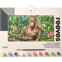 """Orangutan - Paint By Number Kit 12""""X16"""""""