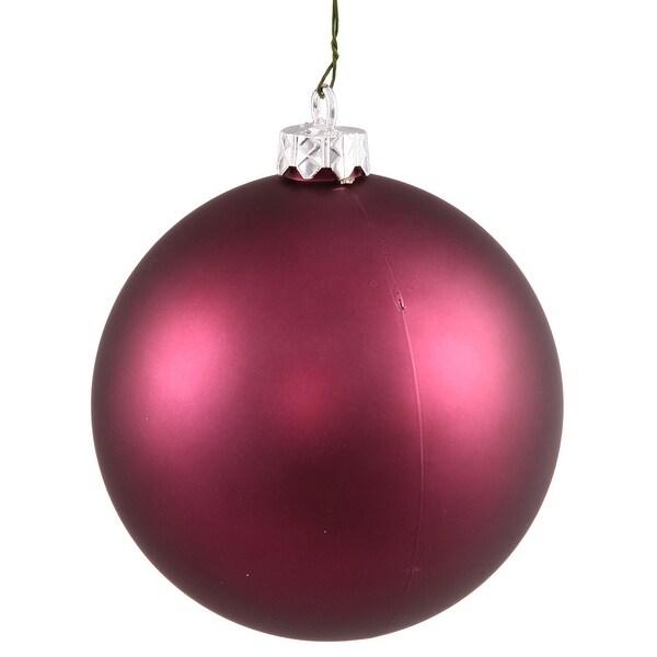 """15.75"""" Plum Matte Ball UV Shatterproof"""