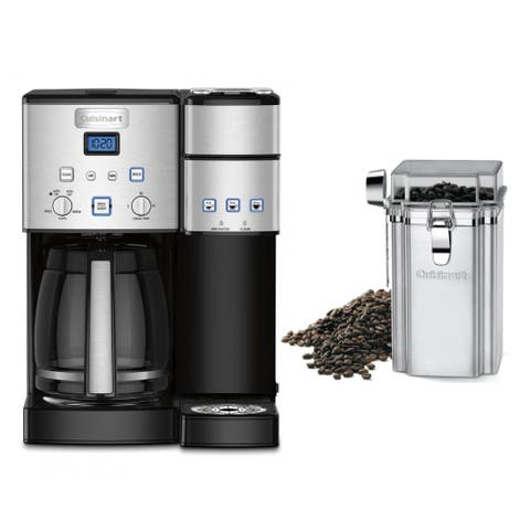 Cuisinart SS-15 12-Cup Coffeemaker and Brewer with Coffee Canister