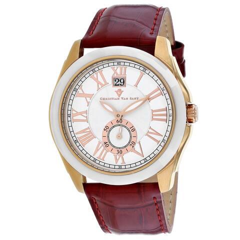 Christian Van Sant Men's Gravity White Dial Watch - CV3102 - One Size
