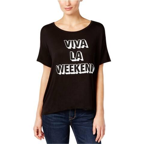 Retro Brand Womens Viva La Weekend Graphic T-Shirt