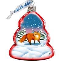 GDeBrekht 771029 Fox Glass Ornament