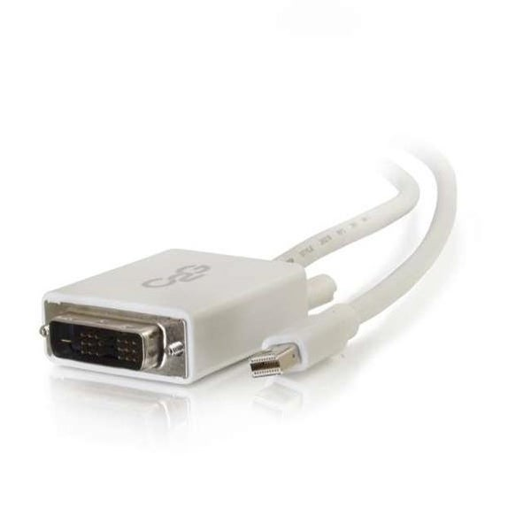 C2g 54338 6 ft. Mini Displayport M To Dvi M White
