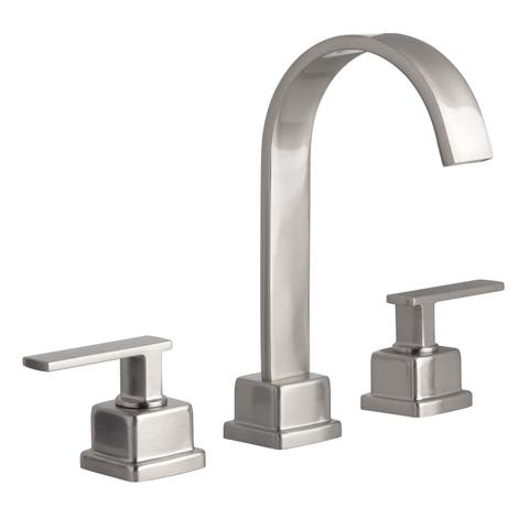 Miseno ML441 Elysa-R 1.2 GPM Widespread Bathroom Faucet with Solid Brass Push-Pop Drain Assembly