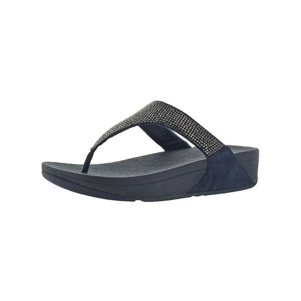 a3d839f70776 Fitflop Womens Slinky Rokkit Thong Sandals Studded Slip Resistant