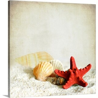 Premium Thick-Wrap Canvas entitled Little treasures from sea. (5 options available)