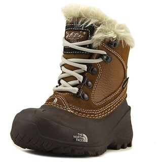 The North Face Youth Shellista Extreme Round Toe Leather Snow Boot