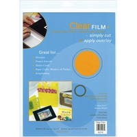 "Film Sheets 9""X12"" 4/Pkg-Clear"
