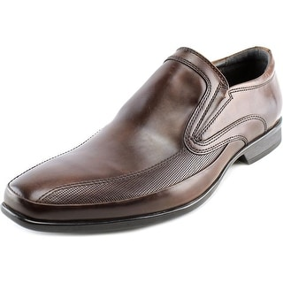 Kenneth Cole Reaction Extra Official Men  Round Toe Leather Brown Loafer