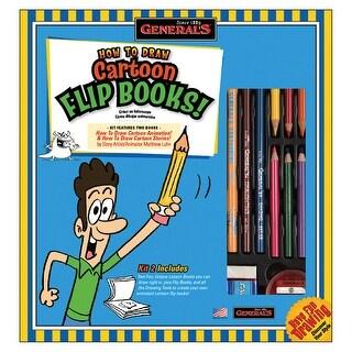 How To Draw Cartoon Flip Books! Kit-