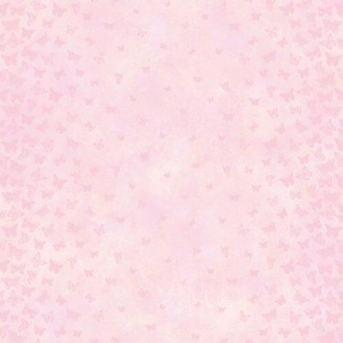Brewster TOT47252 Lucy Pink Butterfly Ombre Column Wallpaper