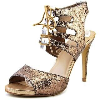 Thalia Sodi Womens RHUMBA Canvas Open Toe Special Occasion Strappy Sandals