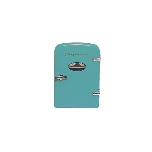 Frigidaire Portable Retro 6-can Mini Fridge EFMIS129-BLUE Refurbished