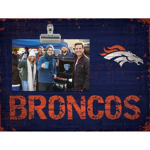 Denver Broncos Clip Frame