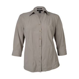 Style & Co. Women's Seamed Wrinkle Resistant Buttoned Top|https://ak1.ostkcdn.com/images/products/is/images/direct/e68c8a7b58d49031efc4feda4a3cd3ffe6d9ef05/Style-%26-Co.-Women%27s-Seamed-Wrinkle-Resistant-Buttoned-Top.jpg?impolicy=medium