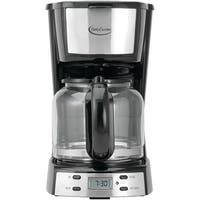 Betty Crocker BC-2809CB 12-Cup Stainless Steel Coffee Maker, Silver