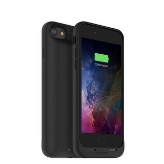 mophie Juice Pack Classic 2,525mAh Battery Charging Case for iPhone 7 & iPhone 8 (NOT PLUS) - Black (Refurbished)