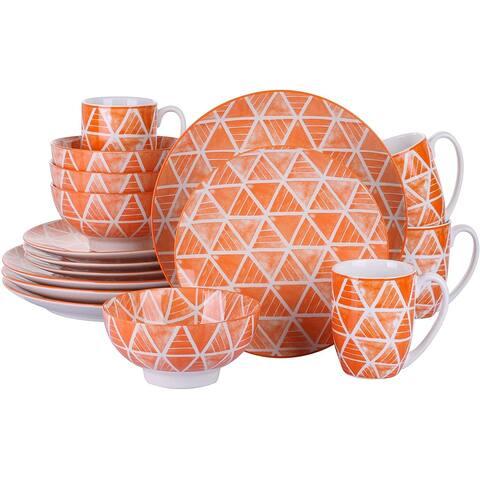 vancasso SAYUKI Oriental Ceramic Dinnerware Set for 4