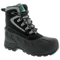 Itasca Women's Lutsen Waterproof Outdoor Boot Black Leather/Nylon