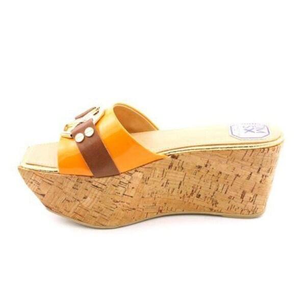Donald J Pliner Womens Bren Open Toe Casual Platform Sandals, Sungold, Size 8.5