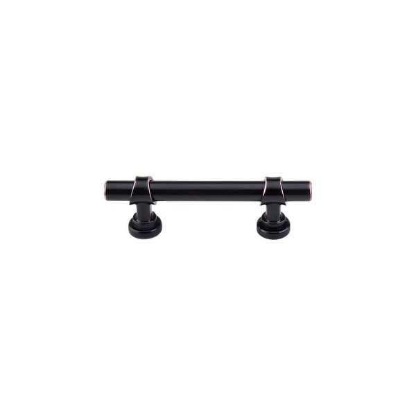 """Top Knobs M1745 Bit 3"""" Center to Center Bar Cabinet Pull from the Dakota Series - Tuscan Bronze - n/a"""